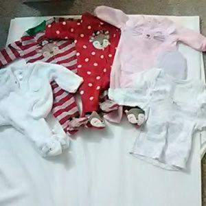 Newborn pajama bundle